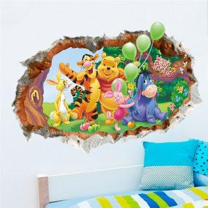 Winnie the Pooh Nursery Wall Decals