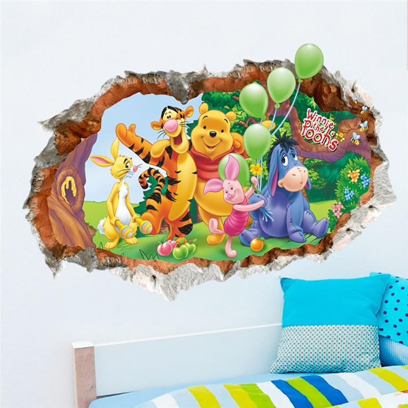 Winnie Pooh Nursery Wall Decals