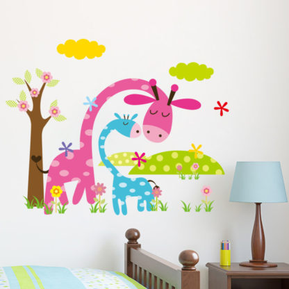 Animal Forest Kids Nursery Wall Decal