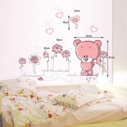 Nursery Bear Wall Sticker Kids