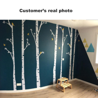 Large Birch Tree Wall Decor