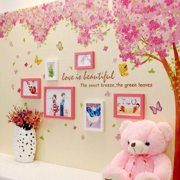 Pink Cherry Blossom Wall Murals