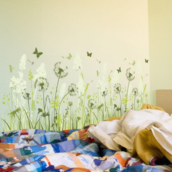 Colorful Dandelion Wall Decal Part 88