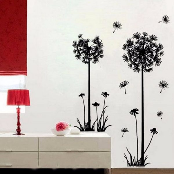 Creative Dandelion Wall Stickers