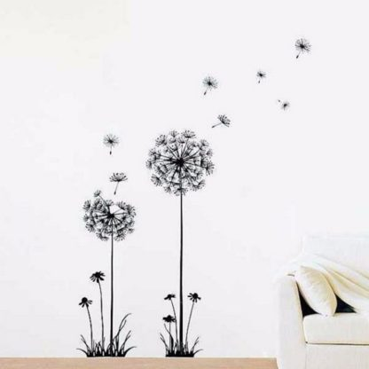 Creative Dandelion Wall Decals