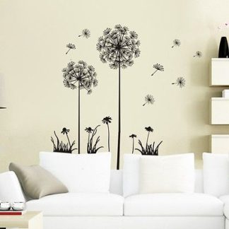 Dandelion Fly Wall Decal