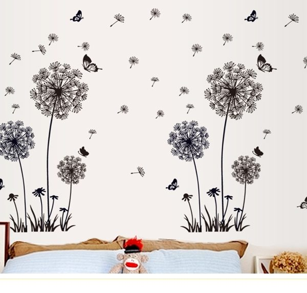 Dandelion Wall Sticker. U201c
