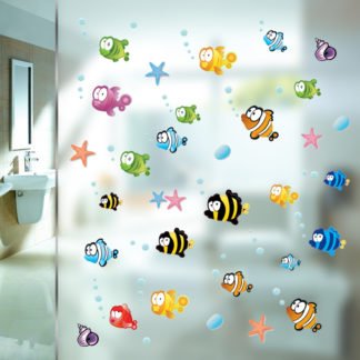 Underwater Fish Nursery Wall Decal