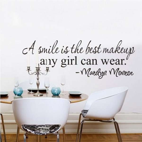 Girl Inspirational Quote Wall Stickers