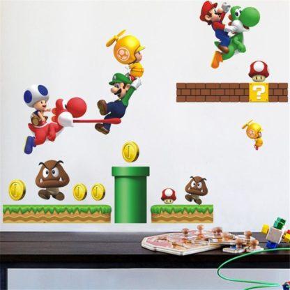 Super Mario Baby Boy Room Wall Sticker
