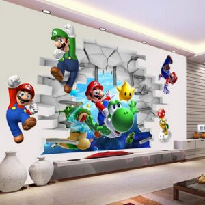 Mario Kids Room Wall Decal