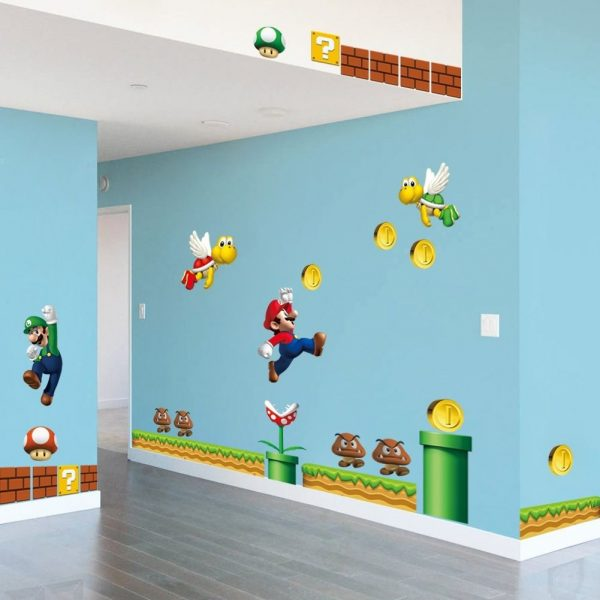 Mario Nursery Wall Decal
