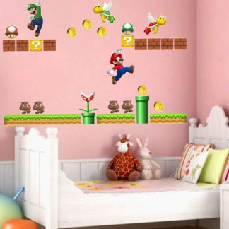 Mario Nursery Wall Sticker