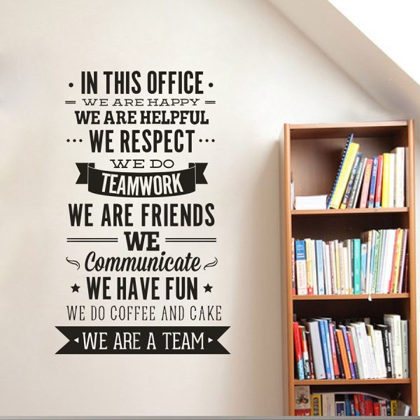 Office Inspiration Quote Wall Sticker