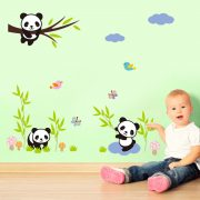 Panda Kids Wall Decals