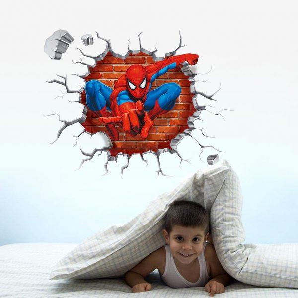 Kids Spiderman Nursery Wall Decals