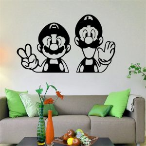 Super Mario Home Decor Wall Decal