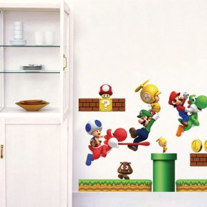 Mario Kids Room Wall Decor