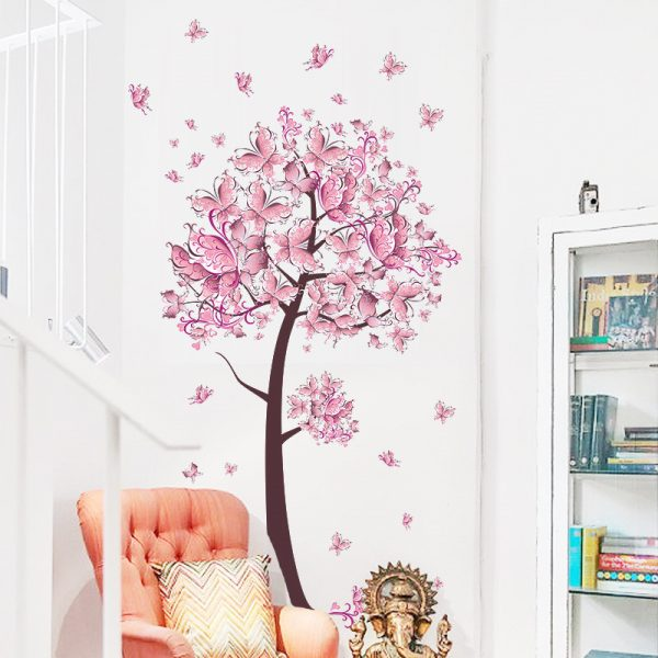 Tree Flower Wall Decals
