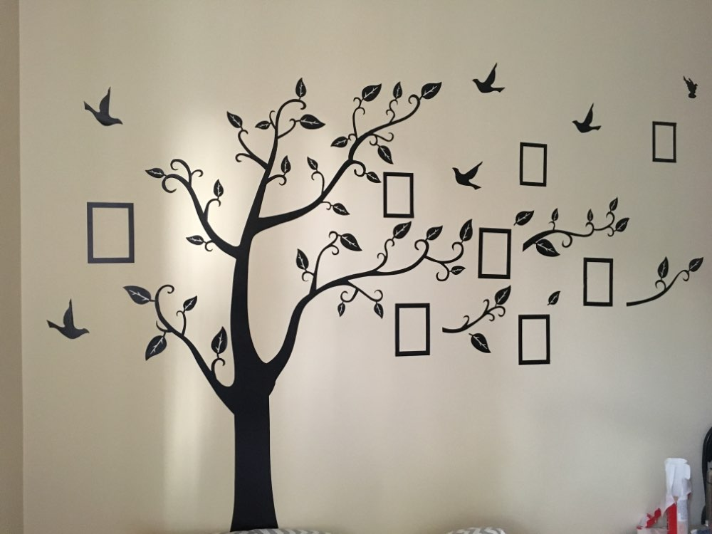 Photo Frame Tree Wall Decals American Wall Decals