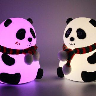 decorative panda shaped desk lamp